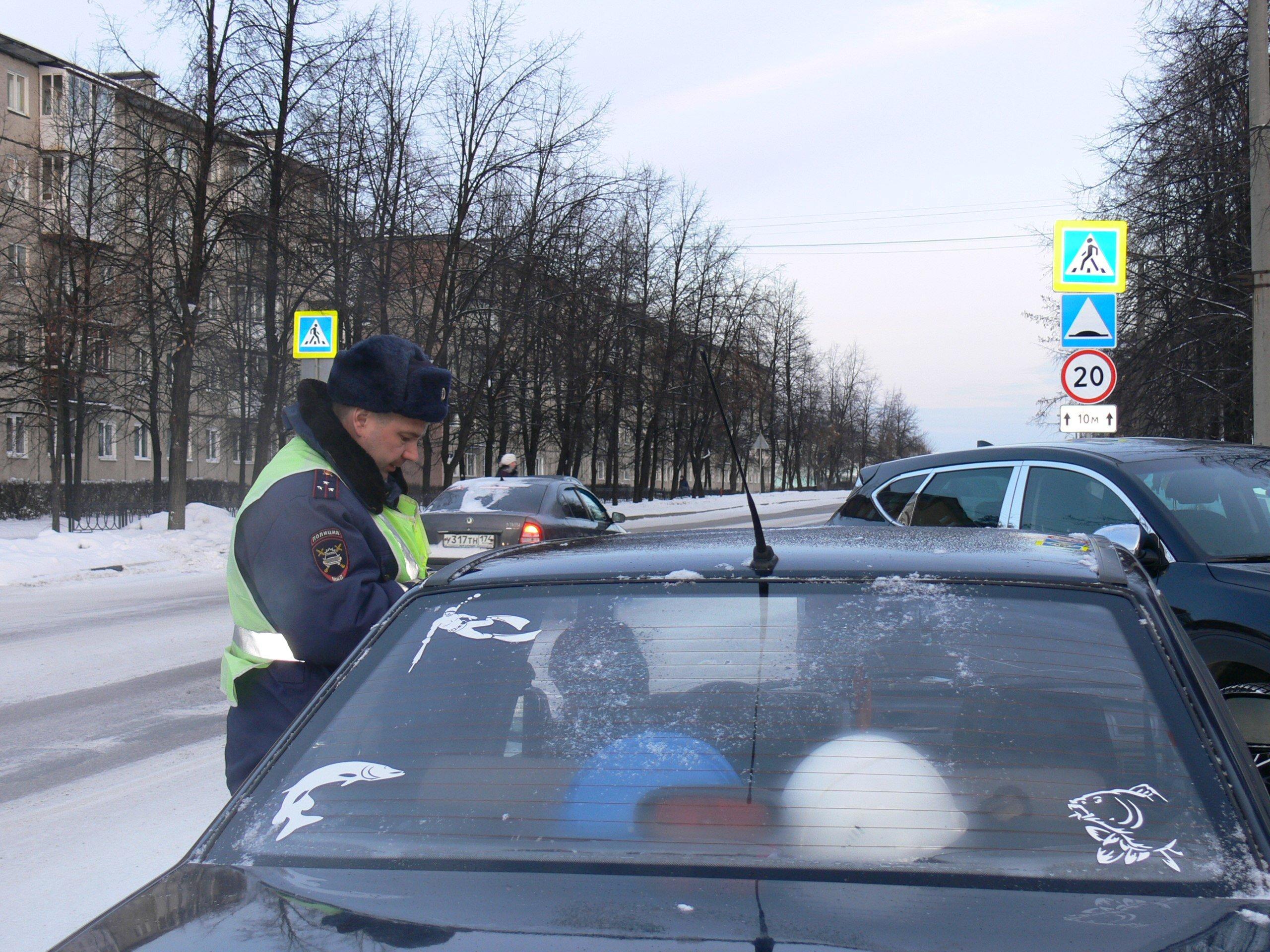 """ОМВД провели профилактическое мероприятие """"Пешеход""""."""