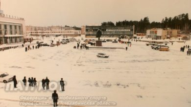 Уличные гонки в Снежинске